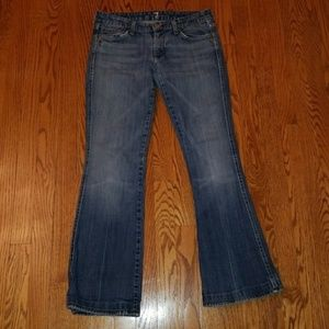 7 for all mankind A pocket boot cut jeans 28